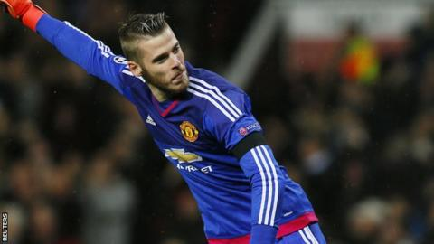brand new 8e56e 0f0f7 David de Gea on Louis van Gaal, staying at Man Utd and the ...