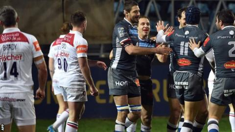 Castres beat Leicester