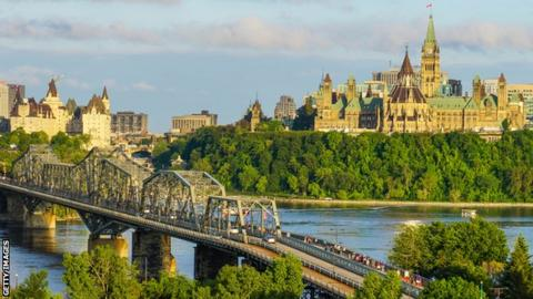 The city of Ottawa