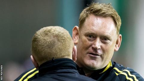 David Hopkin led Livingston to back-to-back promotions from League One to the Scottish Premiership