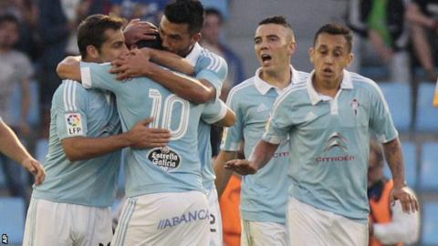 Celta Vigo celebrated a second win in their last three league games against Barcelona