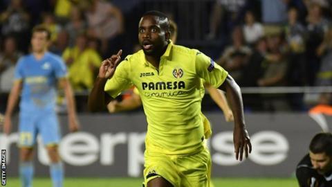 DR Congo striker Bakambu