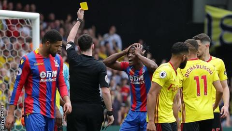 Joel Ward comes in for criticism from Crystal Palace fans