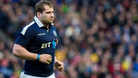 Scotland hooker Fraser Brown
