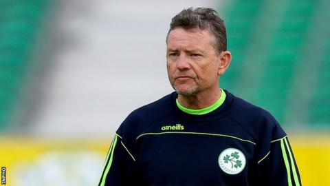 Ireland cricket coach Graham Ford