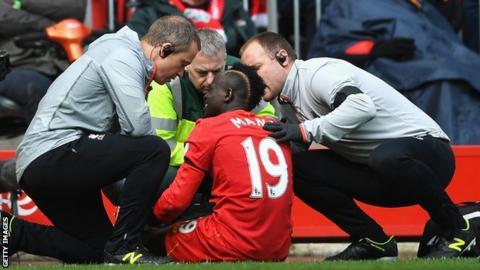 Senegal and Liverpool's Sadio Mane