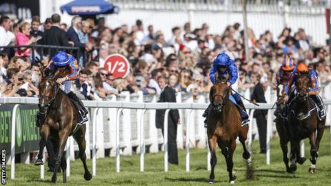 Forever Together wins the Oaks