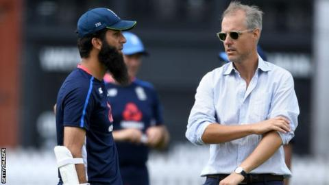 Moeen Ali and Ed Smith