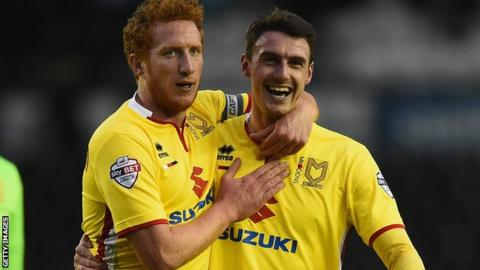Dean Lewington and Darren Potter