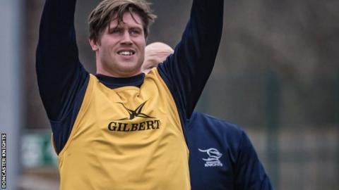 Doncaster Knights prop Ian Williams dies in training