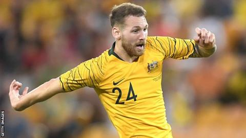 Martin Boyle was injured in a friendly for Australia