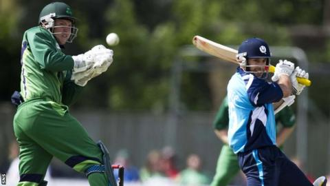 Scotland and Ireland cricketers