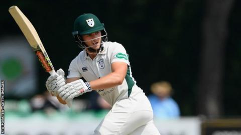 Worcestershire's England Lions batsman Joe Clarke now has 896 County Championship runs for the season