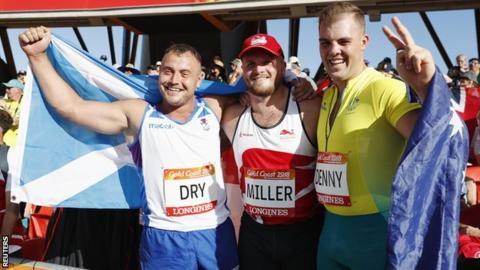 Mark Dry, Nick Miller, Matty Denny