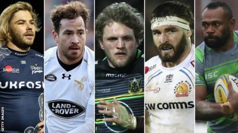 Premiership player of the year nominees
