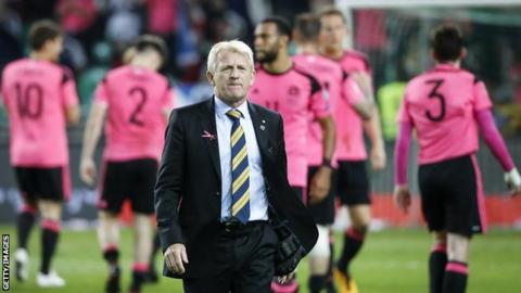 Scotland head coach Gordon Strachan