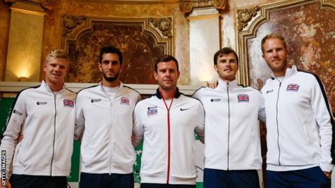 Britain's Davis Cup team