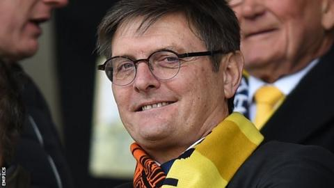 Oxford United chairman Darryl Eales