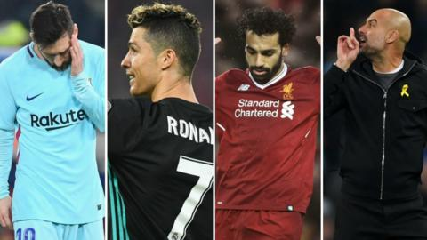 Champions League collage