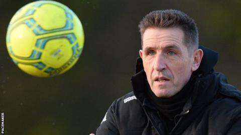 Stephen Baxter is manager of Crusaders