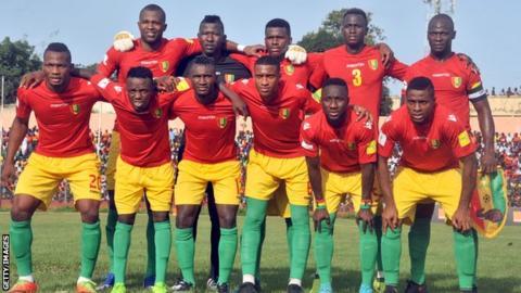 Guinea team