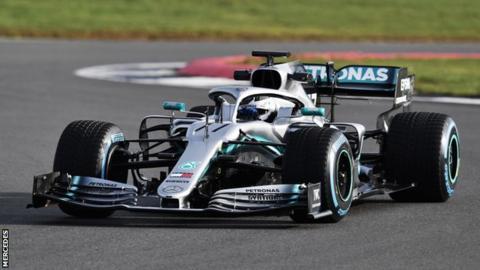 The Mercedes-AMG F1 W10 EQ Power+