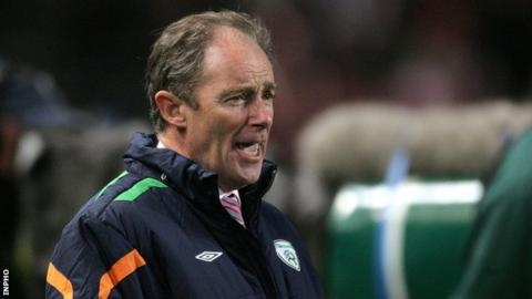 Former Republic of Ireland manager Brian Kerr