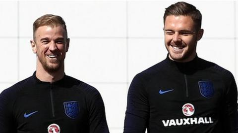 Joe Hart and Jack Butland