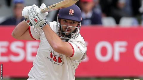 Essex batsman Nick Browne