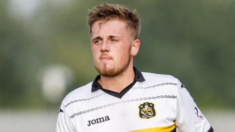 Dumbarton's Chris McLaughlin