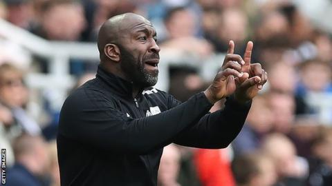 Darren Moore took over West Brom with six Premier League games remaining