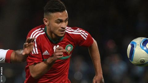 Morocco striker Soufiane Boufal.