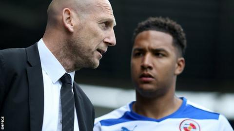 Jaap Stam with Liam Moore