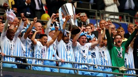 Coventry City's Checkatrade Trophy winning team of 2017