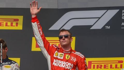 Kimi Raikkonen Austin 2018