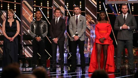 Contenders for SPOTY 2018