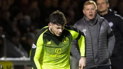 Oliver Burke: Celtic say West Brom comments 'ridiculous and inaccurate'