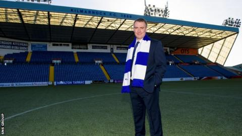 Lee Clark at Rugby Park