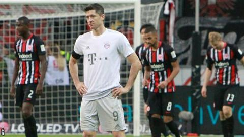 Eintracht Frankfurt vs. Bayern Munich - Football Match Report