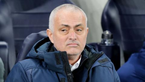 Tottenham manager Jose Mourihno
