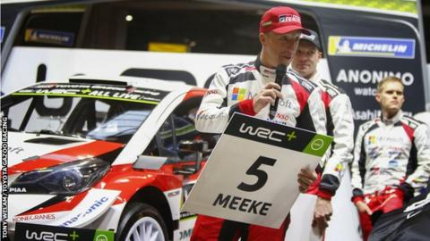 Kris Meeke finished sixth in the season opener in Monte Carlo