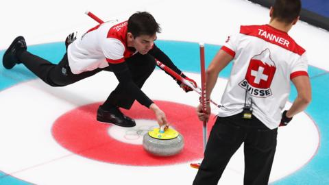 Switzerland men's curling rink