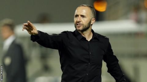 Algeria appoint former international Djamel Belmadi as new coach