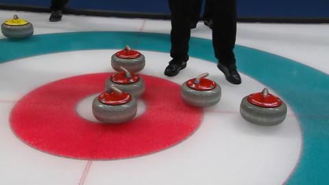 GB's men curling in the playoff