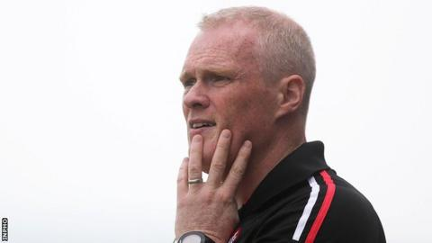 Damian McErlain is manager of Derry's senior footballers