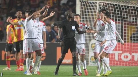 Wydad players