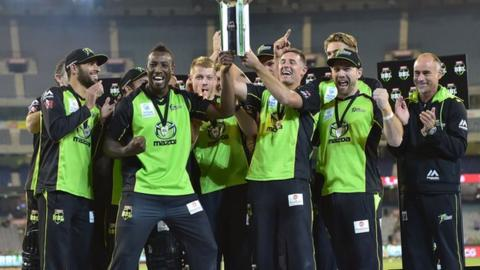 Sydney Thunder beat Kevin Pietersen's Melbourne Stars in Saturday night's final at the MCG