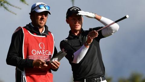 Fitzpatrick leads European Masters golf