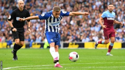 Brighton 1-1 West Ham: Leandro Trossard shines as Seagulls are held