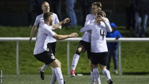 Edinburgh City are three points clear in League Two
